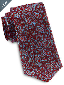 Rochester Designed In Italy Small Repeating Paisley Silk Tie