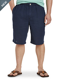 Tommy Bahama® Linen Out Loud Elastic-Waist Shorts