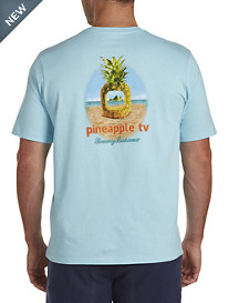 Tommy Bahama® Pineapple TV Graphic Tee
