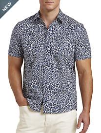 Michael Kors® Fitz Print Stretch Sport Shirt