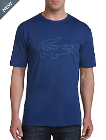 Lacoste® Sport Technical Jersey Croc Graphic Tee