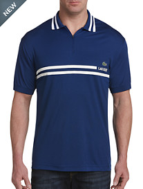 Lacoste® Zippered Colorblock Polo