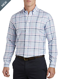 Brooks Brothers® Non-Iron Viola Plaid Oxford Sport Shirt