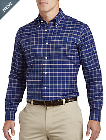 Brooks Brothers® Non-Iron Windowpane Oxford Sport Shirt