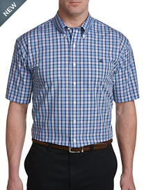 Brooks Brothers® Non-Iron Multi Plaid Poplin Sport Shirt