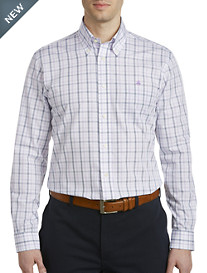 Brooks Brothers® Non-Iron Windowpane Poplin Sport Shirt