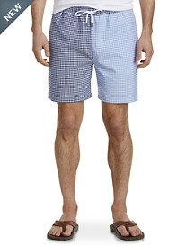 Brooks Brothers® Gingham Oxford Fun Swim Shorts