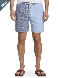 Brooks Brothers® Gingham Oxford Fun Swim Shorts