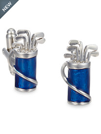 Link Up Golf Bag Cuff Links