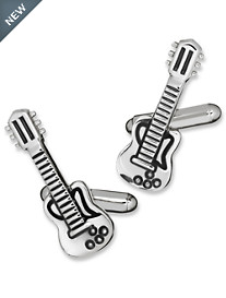 Link Up Guitar Cuff Links