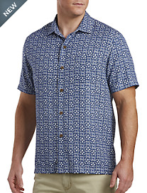 Tommy Bahama® Juno Beach Silk Sport Shirt