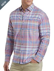 Tommy Bahama® Mangrove Madras Sport Shirt