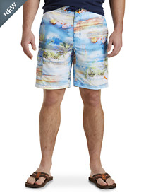 Tommy Bahama® Baja Electric Beach Board Shorts