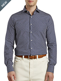 Paul & Shark® Airplane-Print Sport Shirt