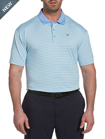 Callaway® Refined 3-Color Stripe Polo