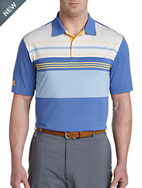 adidas® Golf Ultimate Colorblock Stripe Polo