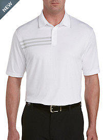 adidas® Golf 3-Stripe Piqué Polo