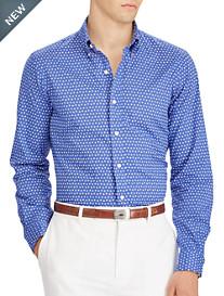 Polo Ralph Lauren® Classic Fit Geometric-Print Poplin Sport Shirt