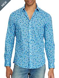 Polo Ralph Lauren® Classic Fit Floral-Print Poplin Sport Shirt