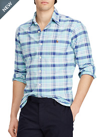 Polo Ralph Lauren® Classic Fit Plaid Oxford Sport Shirt