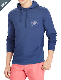 Polo Ralph Lauren® Cotton Graphic Hooded T-Shirt