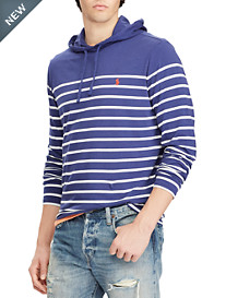 Polo Ralph Lauren® Weathered Stripe Cotton Jersey Hoodie