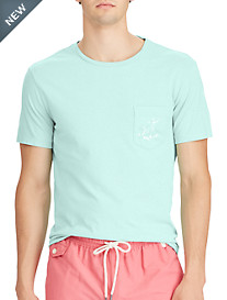 Polo Ralph Lauren® Classic Fit Flag Graphic T-Shirt