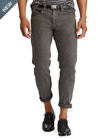 Polo Ralph Lauren® Hampton Relaxed Straight Fit Stretch Jeans – Ethan Wash