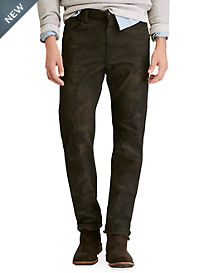 Polo Ralph Lauren® Hampton Relaxed Straight Fit Stretch Twill Jeans – Camo Print