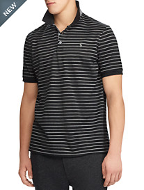 Polo Ralph Lauren® Classic Fit Soft-Touch Stretch Mesh Stripe Polo