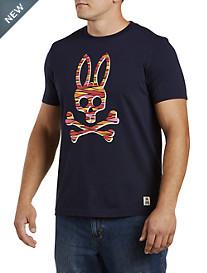 Psycho Bunny® Skull & Bones Graphic Tee