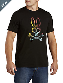 Psycho Bunny® Tropical Skull Graphic Tee