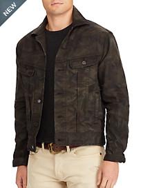 Polo Ralph Lauren® Stretch Denim Camo Trucker Jacket