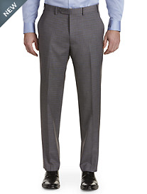 Michael Kors® Grid Flat-Front Suit Pants