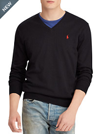 Polo Ralph Lauren® Cotton V-Neck Sweater