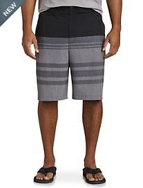 Rochester Colorblock Stripe Swim Shorts