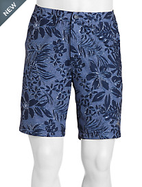 Tommy Bahama® Cayman Camo Safari Hybrid Board Shorts