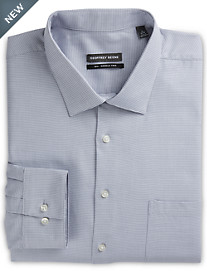 Geoffrey Beene® Mini Houndstooth Dress Shirt