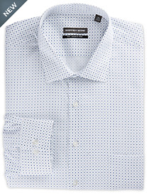 Geoffrey Beene® Repeating Diamond Dress Shirt
