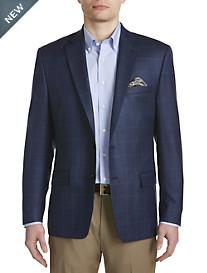 Ralph by Ralph Lauren Comfort Flex Windowpane Silk/Wool Sport Coat – Executive Cut
