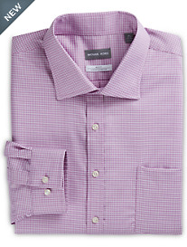 Michael Kors® Textured Mini Check Dress Shirt