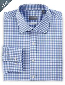 Michael Kors® Non-Iron Dobby Grid Stretch Dress Shirt