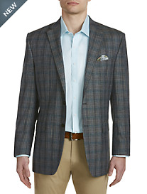 Ralph by Ralph Lauren Comfort Flex Plaid Sport Coat – Executive Cut