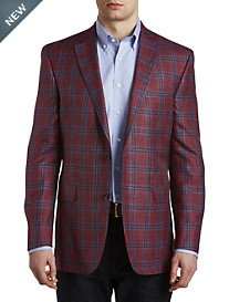 Jack Victor® Seasonal Plaid Sport Coat – Executive Cut