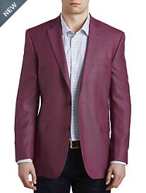 Jack Victor® Textured Solid Wool Sport Coat – Executive Cut