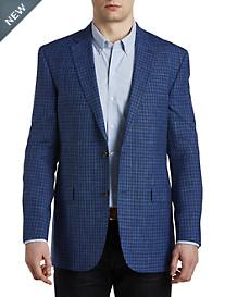 Jack Victor® Textured Check Sport Coat – Executive Cut