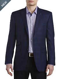 Ted Baker® Endurance Waffle Plaid Wool Sport Coat