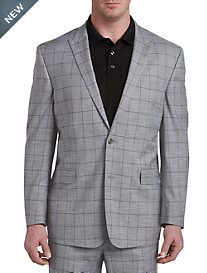 Geoffrey Beene® Textured Windowpane Suit Jacket
