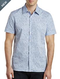 Perry Ellis® Fawna Slub-Knit Stretch Sport Shirt