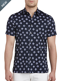 Perry Ellis® Rose Jumble Stretch Sport Shirt